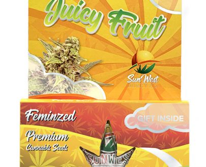 Juicy Fruit Feminized Marijuana Seeds